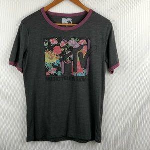 MTV Gray short t-shirt, size XL